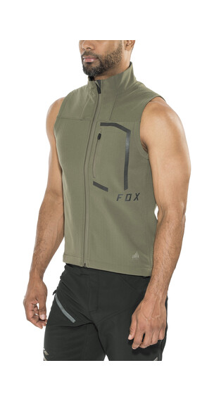 Fox Attack Fire Cycling Vest Men green
